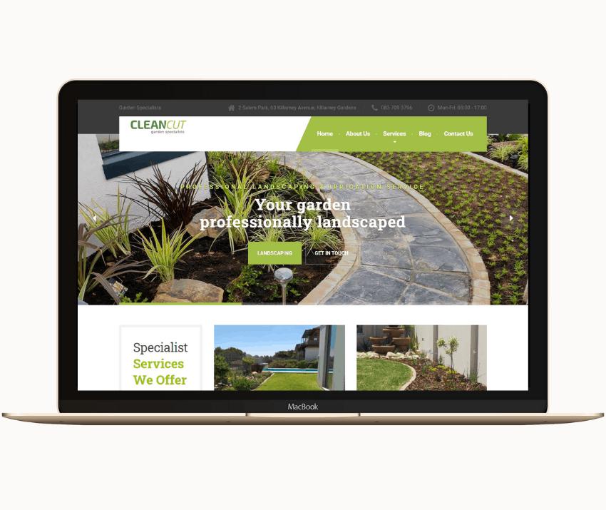 Eclipse Digital Marketing Agency - Clean Cut Garden Specialists