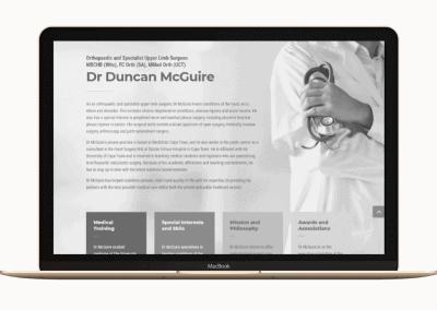 Dr Duncan McGuire