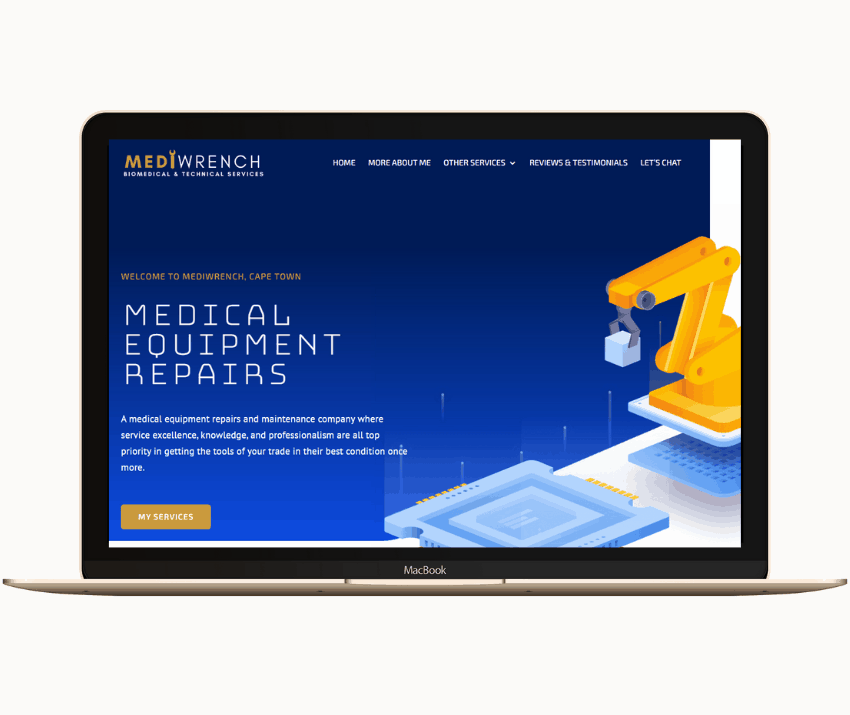 Eclipse Digital Marketing Agency - Mediwrench Mock-up